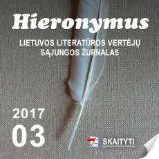 """Žurnalo """"Hieronymus"""" 3 numeris"""